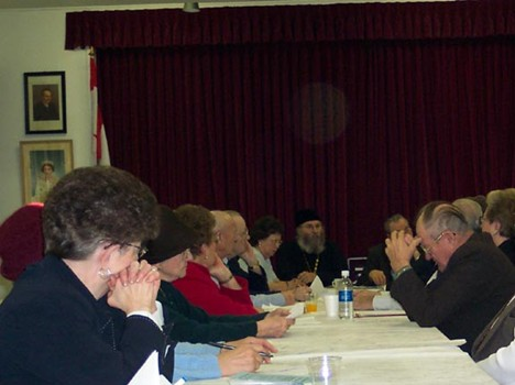 Annual General Church Meeting December 7, 2003