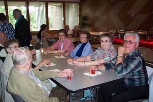 Club Trident Appreciation Dinner at Act Center June 1, 2003