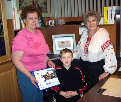 UWAC Supporting a Blind Child with Learning Aides December 2003